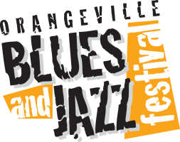 Orangeville Blues & Jazz Festival 's logo