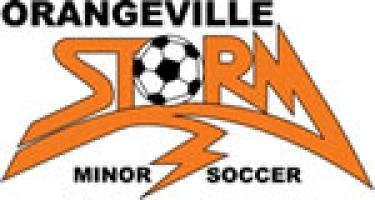 Orangeville Minor Soccer Club 's logo