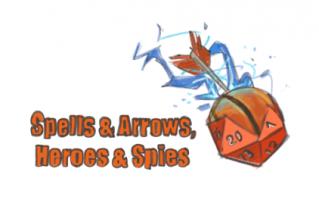 Spells&Arrows, Heroes&Spies 's logo